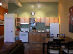 Downtown Ptbo: fully furnished loft-style executive suites