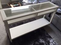White Ikea Console Table