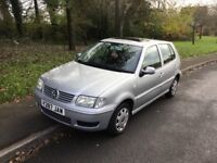 2001 Volkswagen Polo 1.4 Automatic-12 months mot-72,000-2 owners-great value
