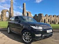 Land Rover Range Rover Sport 3.6TD V8 auto HSE Black *FULL LANDROVER SERVICE*