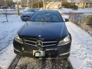 2012 Mercedes c250 coupe 104k