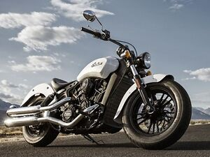 2016 Indian Motorcycle Scout Sixty Pearl White