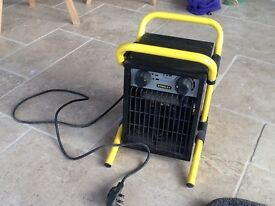 Stanley 2kw workshop, room heater