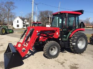 2017 Mahindra 2555 CAB 4X4 55HP Worlds #1 Selling Tractor Brand!