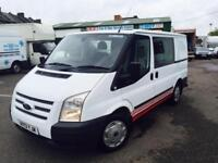 2013 13 Ford Transit 2.2TDCi (125PS) (EU5) 280S Low Roof - Double C SWB Trend