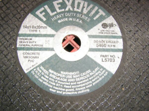 Concrete cut-off blades 14""
