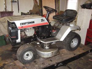 lawn tractor / garden tractor