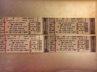 Four One Direction Tickets