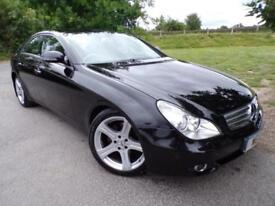 2007 Mercedes Benz CLS CLS320 CDI 4dr Tip Auto COMAND APS! FSH! Leather! 4 d...