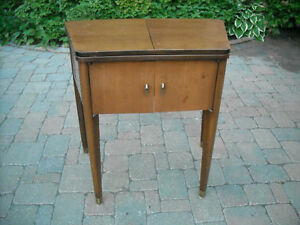 ANTIQUE SEWING TABLE /TABLE THAT CAN BE USED ANYWHERE