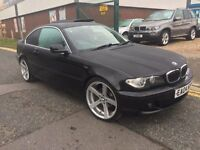 "BMW 320 CI COUPE """"04 PLATE """" 19 INCH BMW ALLOYS"