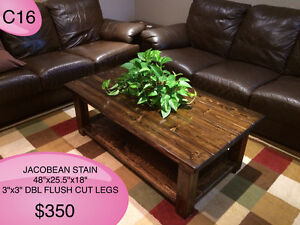 CUSTOM SOLID WOOD RUSTIC DINING TABLES, BENCHES AND MORE Kingston Kingston Area image 9
