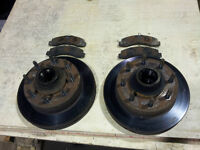 !!! FORD F250 2WDR FRONT ROTORS AND PADS !!!