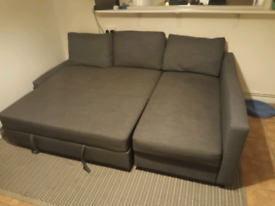 IKEA FRIHETEN CORNER SOFA BED WITH STORAGE LOCAL DELIVERY AVAILABLE