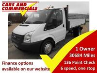 2014 14 FORD TRANSIT 2.2 350 TIPPER DRW 100PS ONE STOP BODY DIESEL