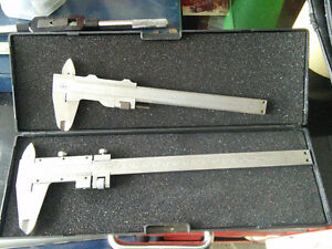 Nippon seki (NSK) vernier caliper as a pair in mint condition