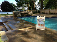 POOL and LANDSCAPE - CONSTRUCTION & SERVICE CREWS - START ASAP!