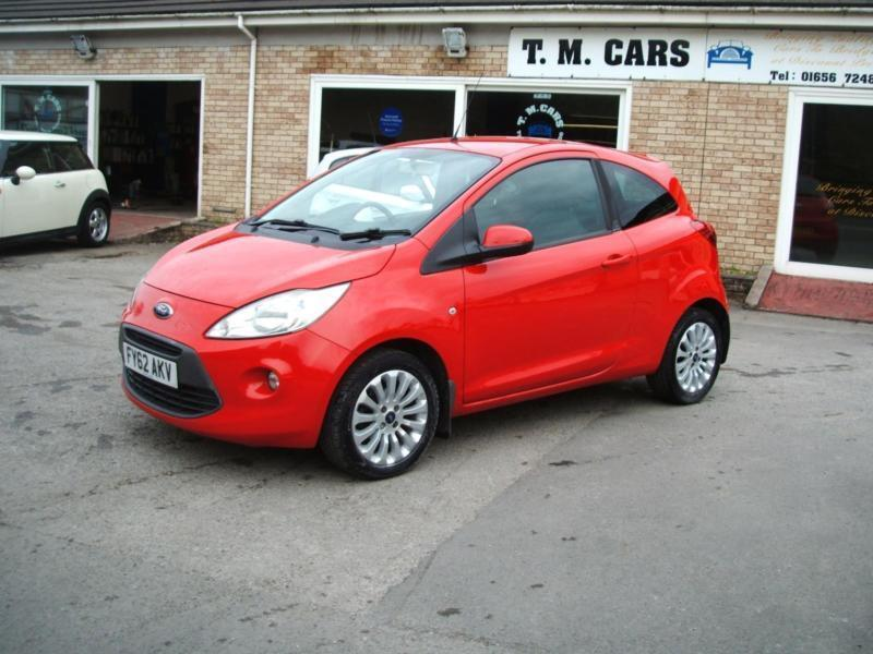 2012 Ford Ka 1.2 ( s/s ) Zetec 3d **£30 Tax / New MOT**