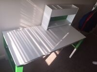 Green and white desk/table