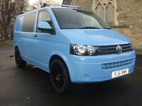 61 Plate Volkswagen Transporter T5 2.0TDi SWB T28 Sky Blue no VAT