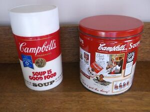 Collectible Campbell Soup Tin and Thermos Never used Belleville Belleville Area image 1