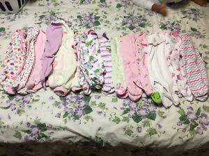 Girls Sleepers Lot