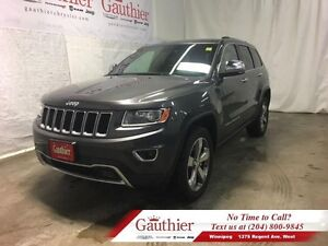 2016 Jeep Grand Cherokee Limited 4X4 w/Sunroof *Accident-Free*
