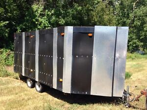 14ft. Enclosed Trailer-   Home made Peterborough Peterborough Area image 1