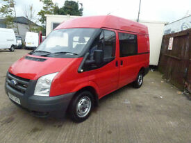 Ford Transit 6 seater crew van 2007 1 company owner