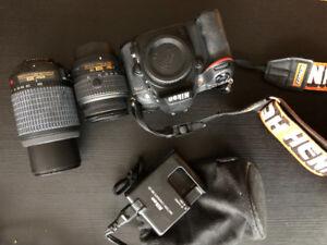 NIKON D7100 ( + Lenses + External Flash available)