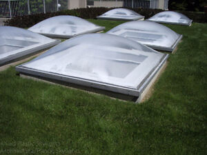 Fall Special SKYLIGHTS to clear, large quantity in stock ready.