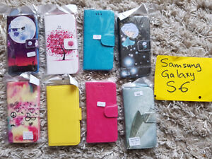 Samsung Galaxy S6 Gorgeous Leather Flip Cases