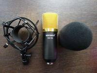 Newer NW700 Condenser microphone & shock mount and foam cap - Brand New