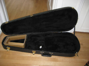 Solid wood guitar case