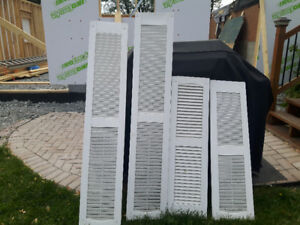 Plastic window Decorative shutters: