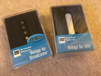Seymour Duncan Broadcaster and Vintage For Tele Telecaster