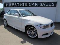 2012 BMW 1 Series 2.0 120d M Sport 2dr Diesel white Automatic