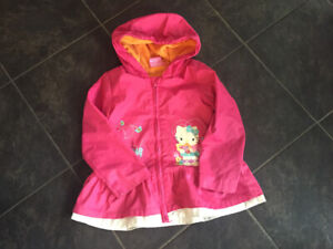 Girls size 4 Hello Kitty spring jacket