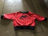 Nike jumper 3-6 months