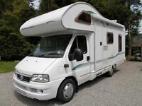 Bessacarr E425 Rear Lounge 4 Berth Motorhome with Little Use and Low Mileage