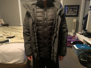 Men's winter jacket size medium