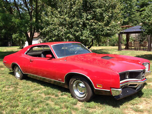 1970 Mercury Cyclone GT RED 351