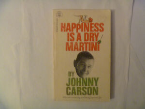 JOHNNY CARSON - Happiness Is A Dry Martini