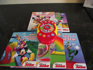 Brand New Mickey Mouse Read Press and Play Activity Pad & Books