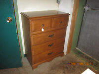 Maple Chest of drawers  dresser