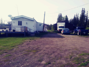 Mobile home on 10 acres lone butte bc 10 acres beside also avail