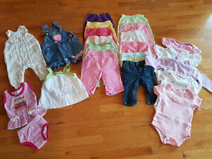 Girls 3-6 Month Clothing lot.