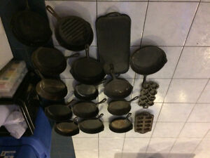 assorted cast iron