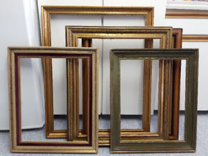 5 Wood Picture Frames