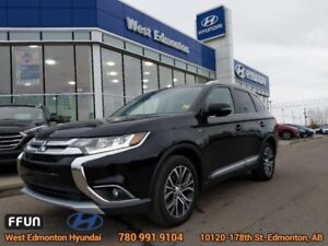 2016 Mitsubishi Outlander GT  - Sunroof -  Leather Seats